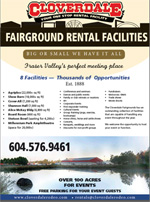 Cloverdale Fairground Rental Facilities information