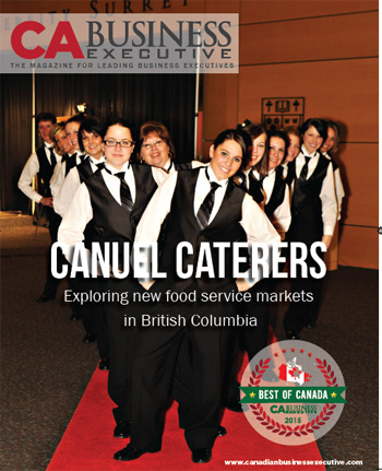 Canada's Best Award  - Catering Service in Vancouver BC