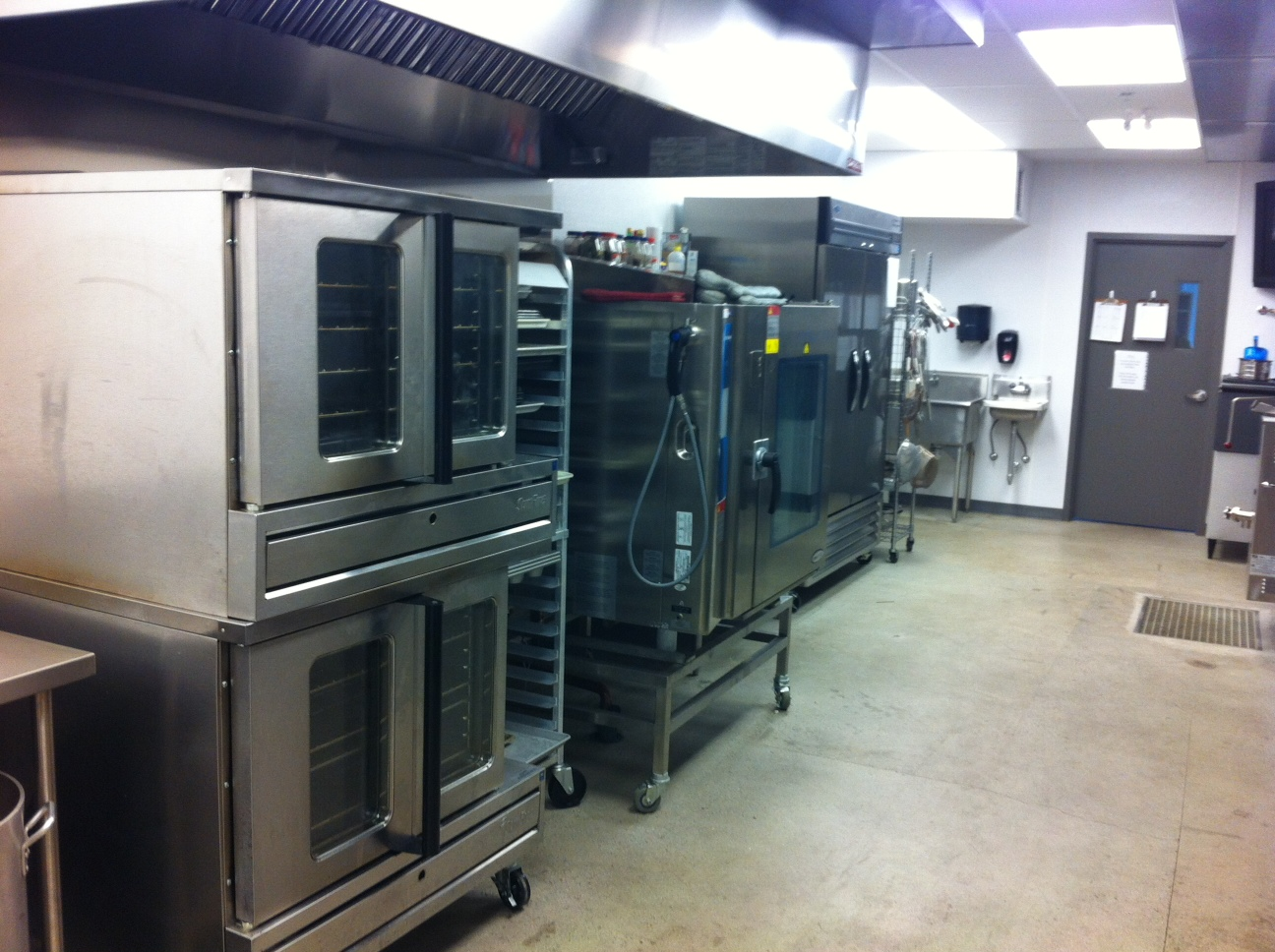 Cauel Caterers Production Facility: Cooking